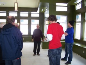 Br. Bill Carrothers leads a January 2011 tour for Niagara Region youth pastors.