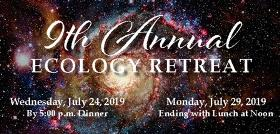 Invitation to 9th annual ecology retreat