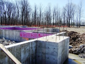 foundations with rebar